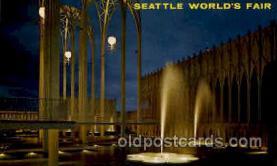 exp160003 - Seatle Washington Worlds Fair 1962, Exposition, Postcard Post Card
