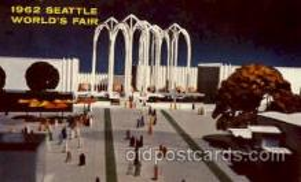exp160006 - Seatle Washington Worlds Fair 1962, Exposition, Postcard Post Card