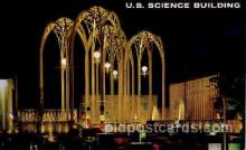exp160011 - Seatle Washington Worlds Fair 1962, Exposition, Postcard Post Card