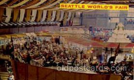 exp160012 - Seatle Washington Worlds Fair 1962, Exposition, Postcard Post Card