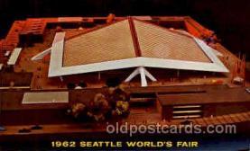 exp160017 - Seatle Washington Worlds Fair 1962, Exposition, Postcard Post Card