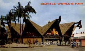 exp160018 - Seatle Washington Worlds Fair 1962, Exposition, Postcard Post Card