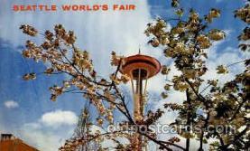 exp160019 - Seatle Washington Worlds Fair 1962, Exposition, Postcard Post Card