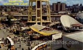 exp160020 - Seatle Washington Worlds Fair 1962, Exposition, Postcard Post Card