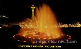 exp160021 - Seatle Washington Worlds Fair 1962, Exposition, Postcard Post Card