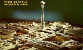 exp160022 - Seatle Washington Worlds Fair 1962, Exposition, Postcard Post Card