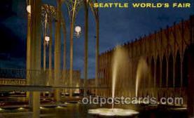 exp160025 - Seatle Washington Worlds Fair 1962, Exposition, Postcard Post Card