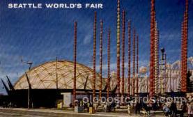 exp160026 - Seatle Washington Worlds Fair 1962, Exposition, Postcard Post Card