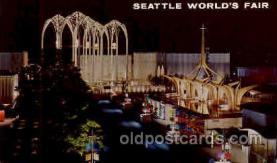 exp160027 - Seatle Washington Worlds Fair 1962, Exposition, Postcard Post Card