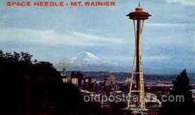 exp160033 - Seatle Washington Worlds Fair 1962, Exposition, Postcard Post Card