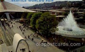 exp160034 - Seatle Washington Worlds Fair 1962, Exposition, Postcard Post Card
