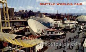 exp160035 - Seatle Washington Worlds Fair 1962, Exposition, Postcard Post Card