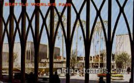 exp160036 - Seatle Washington Worlds Fair 1962, Exposition, Postcard Post Card