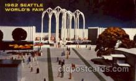 exp160038 - Seatle Washington Worlds Fair 1962, Exposition, Postcard Post Card