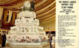 exp160039 - Seatle Washington Worlds Fair 1962, Exposition, Postcard Post Card