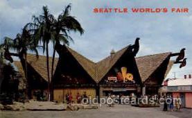 exp160043 - Seatle Washington Worlds Fair 1962, Exposition, Postcard Post Card