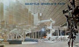 exp160044 - Seatle Washington Worlds Fair 1962, Exposition, Postcard Post Card