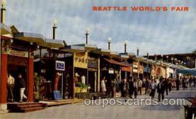 exp160045 - Seatle Washington Worlds Fair 1962, Exposition, Postcard Post Card