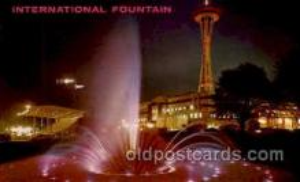 exp160046 - Seatle Washington Worlds Fair 1962, Exposition, Postcard Post Card