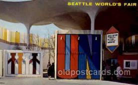 exp160048 - Seatle Washington Worlds Fair 1962, Exposition, Postcard Post Card