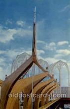 exp160054 - Seatle Washington Worlds Fair 1962, Exposition, Postcard Post Card