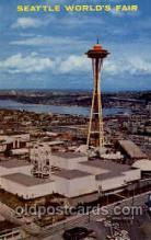 exp160061 - Seatle Washington Worlds Fair 1962, Exposition, Postcard Post Card