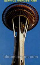 exp160062 - Seatle Washington Worlds Fair 1962, Exposition, Postcard Post Card