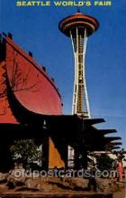 exp160063 - Seatle Washington Worlds Fair 1962, Exposition, Postcard Post Card
