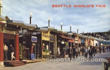 exp160068 - Boulevards of the World 1962 Seattle, Washington, USA Worlds Fair Exposition, Postcard Post Card
