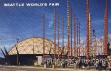 exp160069 - South Gate 1962 Seattle, Washington, USA Worlds Fair Exposition, Postcard Post Card