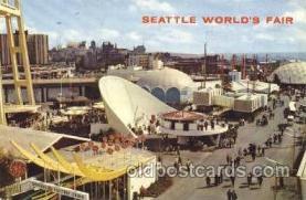 exp160072 - Seattle Washington USA Exposition, Worlds Fair Postcard Post Card