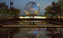 exp170014 - New York Worlds Fair, New York City, NYC Exposition, Postcard Post Card