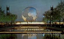 exp170024 - New York Worlds Fair, New York City, NYC Exposition, Postcard Post Card