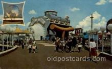 exp170030 - New York Worlds Fair, New York City, NYC Exposition, Postcard Post Card