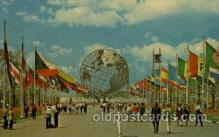 exp170037 - New York Worlds Fair, New York City, NYC Exposition, Postcard Post Card