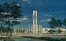 exp170043 - New York Worlds Fair, New York City, NYC Exposition, Postcard Post Card