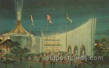 exp170045 - New York Worlds Fair, New York City, NYC Exposition, Postcard Post Card