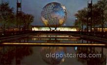 exp170048 - New York Worlds Fair, New York City, NYC Exposition, Postcard Post Card