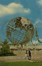 exp170053 - New York Worlds Fair, New York City, NYC Exposition, Postcard Post Card