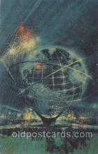 exp170073 - Unisphere New York, USA 1964 - 1965, Worlds Fair, Exposition, Postcard Post Card