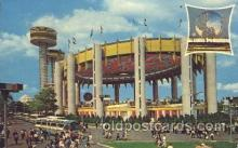 exp170095 - State pavilion New York, USA 1964 - 1965, Worlds Fair, Exposition, Postcard Post Card