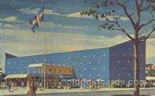 exp170098 - Sweden New York, USA 1964 - 1965, Worlds Fair, Exposition, Postcard Post Card