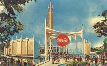 exp170100 - Coca-Cola Co. New York, USA 1964 - 1965, Worlds Fair, Exposition, Postcard Post Card