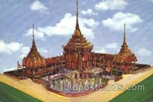 exp170111 - Thailand Pavilion New York, USA 1964 - 1965, Worlds Fair, Exposition, Postcard Post Card