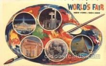 exp170112 - New York, USA 1964 - 1965, Worlds Fair, Exposition, Postcard Post Card