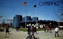 exp180002 - Montreal, Canada Exposition, 1967 expo67, Postcard Post Card
