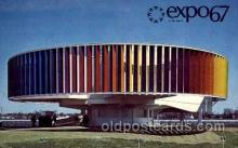 exp180003 - Montreal, Canada Exposition, 1967 expo67, Postcard Post Card