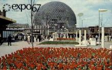 exp180006 - Montreal, Canada Exposition, 1967 expo67, Postcard Post Card