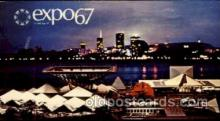 exp180007 - Montreal, Canada Exposition, 1967 expo67, Postcard Post Card