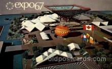 exp180012 - Montreal, Canada Exposition, 1967 expo67, Postcard Post Card